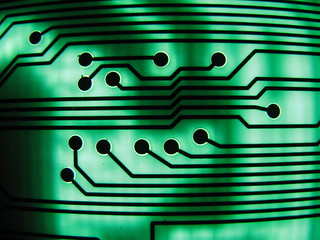 green circuit board II | by BotheredByBees