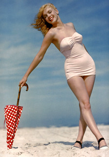 beachy marilyn umbrella dandy | by carbonated