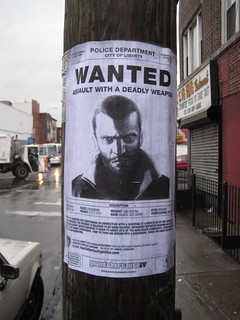 GTA IV wanted poster | by freshyill
