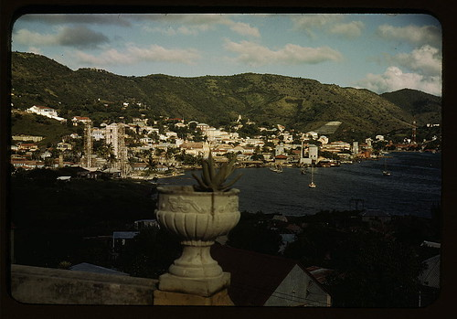French village, a small settlement on St. Thomas Island, Virgin Islands  (LOC) | by The Library of Congress