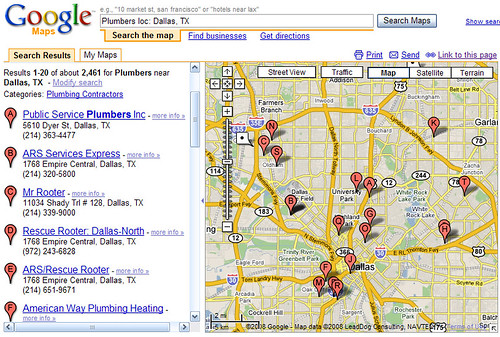 Chicago Plumbers in Google Maps | by Si1very