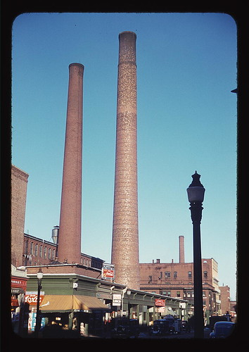 Lowell, Mass., street  (LOC) | by The Library of Congress