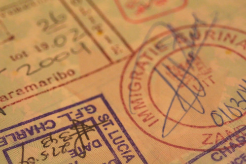 Passport stamps | by madmack66