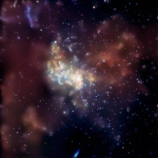 The supermassive black hole at the center of our Galaxy. | by Smithsonian Institution