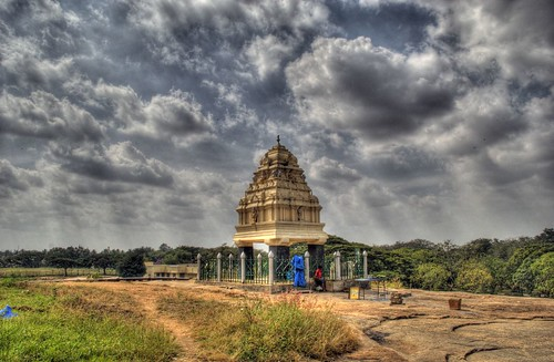 Shrine at Lalbagh Garden, Bangalore India | by vincechan06