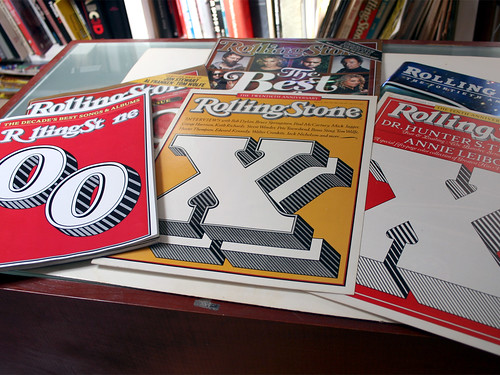 Rolling Stone Covers by Jim Parkinson | by FontShop