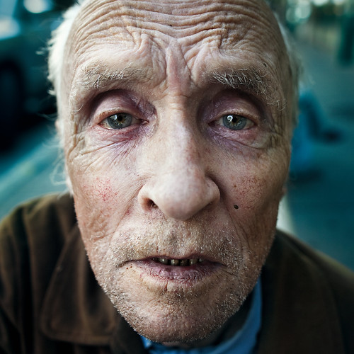 A stranger: plaza st-hubert: George Bolduc 78 years old....PLEASE LOOK THE HI-RESS | by Benoit.P
