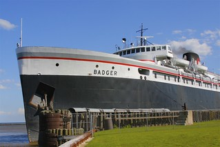 SS Badger | by milesizz
