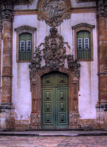 Door of the Saint Francis of Assisi church | by Frans Harren