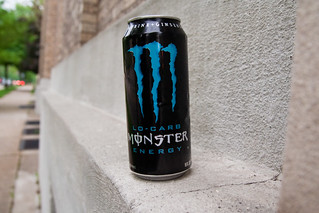 Monster Energy Drink Can Ledge East Hills Neighborhood Evening Walk May 25, 20119 | by stevendepolo