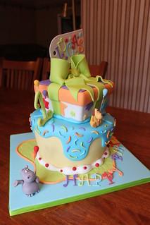 Черёмушки торт на заказ фото 1