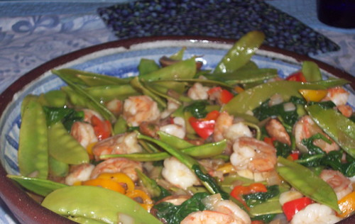 Shrimp Stir Fry | by mia3mom