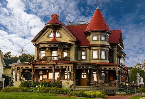 Oak Bluffs Mansion - Early Morning | by lightwork photography