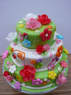 Spring cake by Patricia 2 | by CAKE Amsterdam - Cakes by ZOBOT