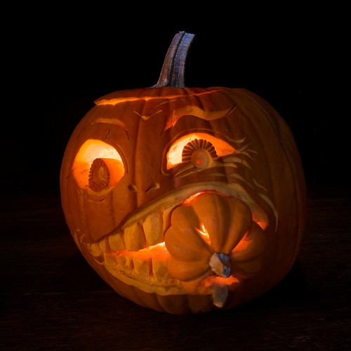 the cannibal (2010 pumpkin) | by pixability