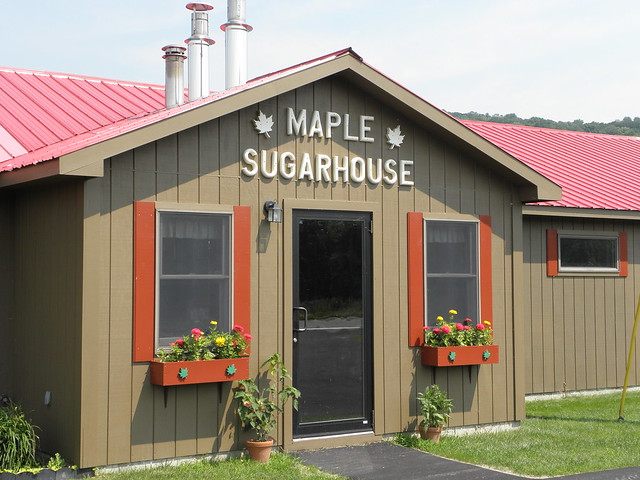 Vermont got maple syrup