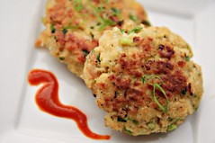 Shrimp Cakes Header | by The Noshery