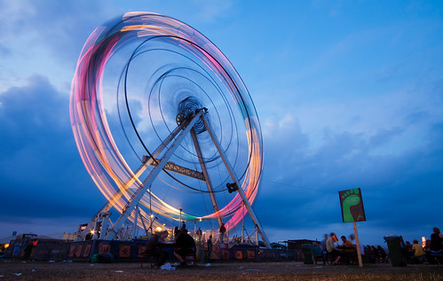 The Green Wheel at Roskilde Festival 2009 | by Stig Nygaard