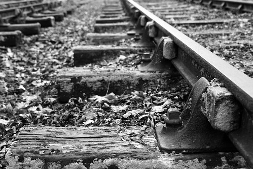 train tracks | by apdk