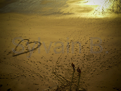 Heart On the Beach ! | by sylvain_beauchamps