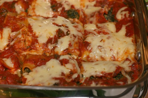 Super-Fast Spinach, Pesto and Cheese Lasagna (Bon Appetit recipe) | by Food Librarian