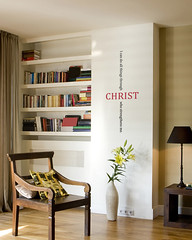 Christ Bible Quote Lettering - Vinyl Wall Sticker | by Simple Shapes
