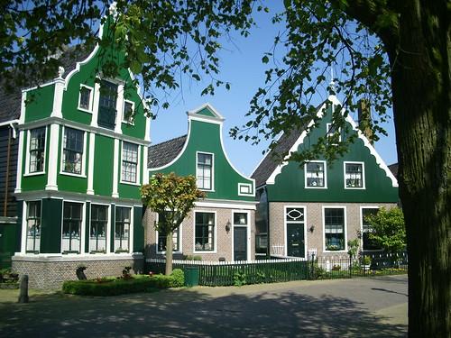 Wooden Houses Zaanse Schans