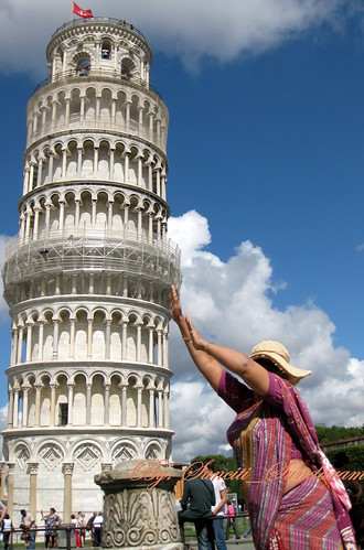STRAIGHTENING  THE PISA BELL TOWER, ALMOST MADE IT | by Sunciti _ Sundaram's Images + Messages