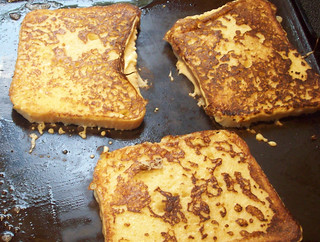 French toast on the griddle | by mia3mom
