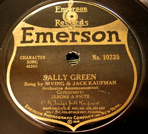 Emerson vintage record label flickr photo sharing for Classic house record labels