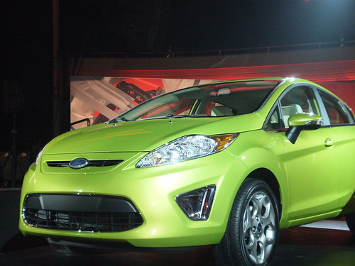2011 Ford Fiesta At The Fiesta Movement Celebration At The