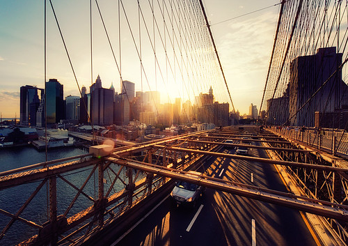 New York - Brooklyn Bridge Sunset 2 | by Philipp Klinger Photography