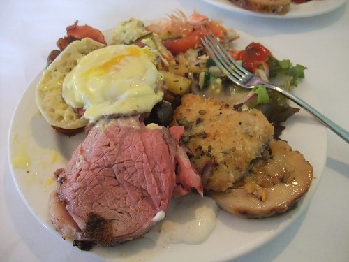 Brunch Plate from The Worthington Inn | by swampkitty