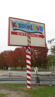 Chicago's Kiddieland Amusement Park. Melrose Park Illinois. Thursday, October 8th 2009 after the park had closed. | by Eddie from Chicago