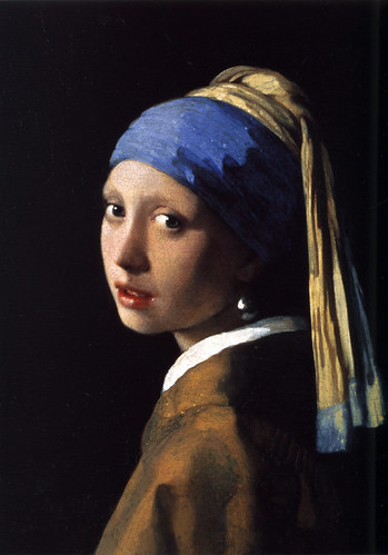 Jan Vermeer-The Girl With The Pearl Earring 1665 | by DarFin Oil Painting