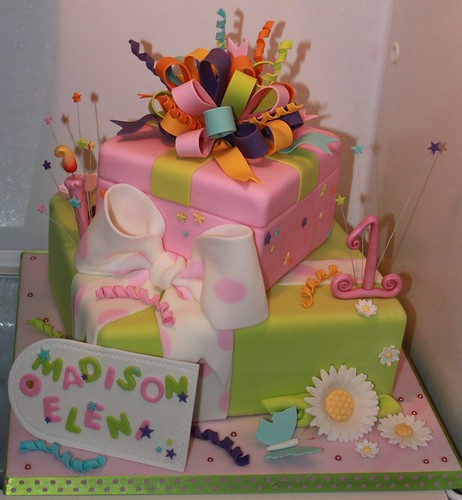 Stacked gifts for Madison | by Andrea's SweetCakes