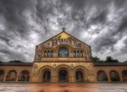 The Stanford Church in the Photowalk Storm | by Stuck in Customs