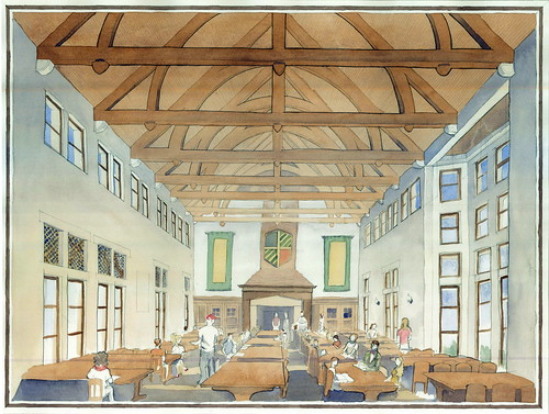Yale Residential College Dining Hall This Is The Dining