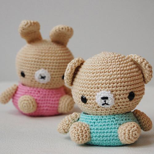 Amigurumi Bear and Bunny Box My latest pattern. Please ...