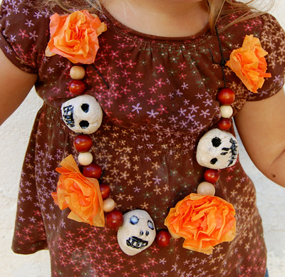 Day of the Dead necklace | by secret agent josephine