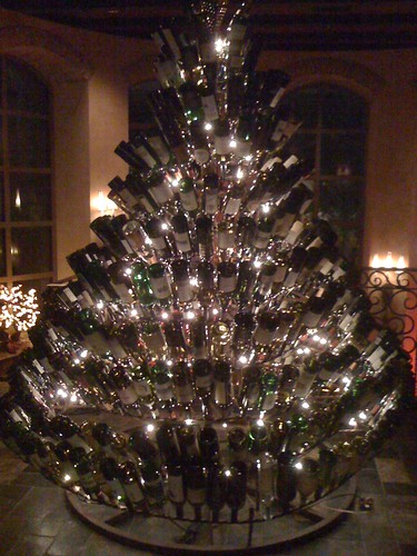 The Wine Bottle Christmas Tree In Old Hickory Steakhouse Flickr