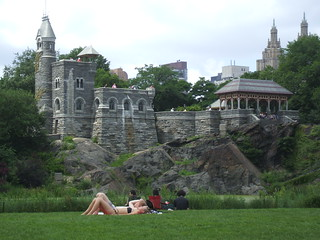 Castle in Central Park | by Quirky Knit Girl