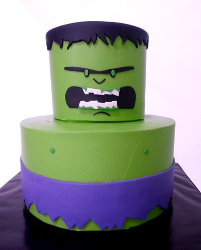 hulk | by Tuff Cookie cakes by Sylvia