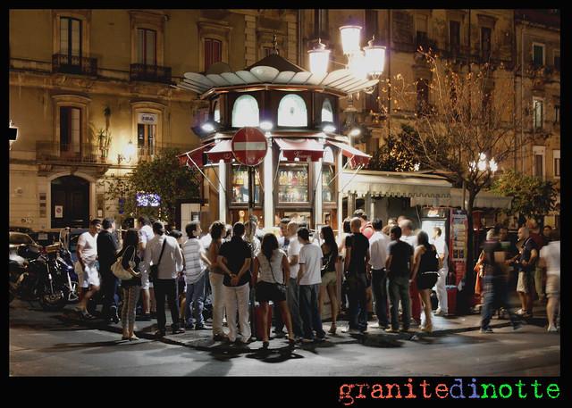 Chiosco di granite a Catania