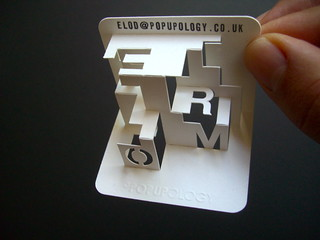 3-d business card series VIV - form | by elod beregszaszi