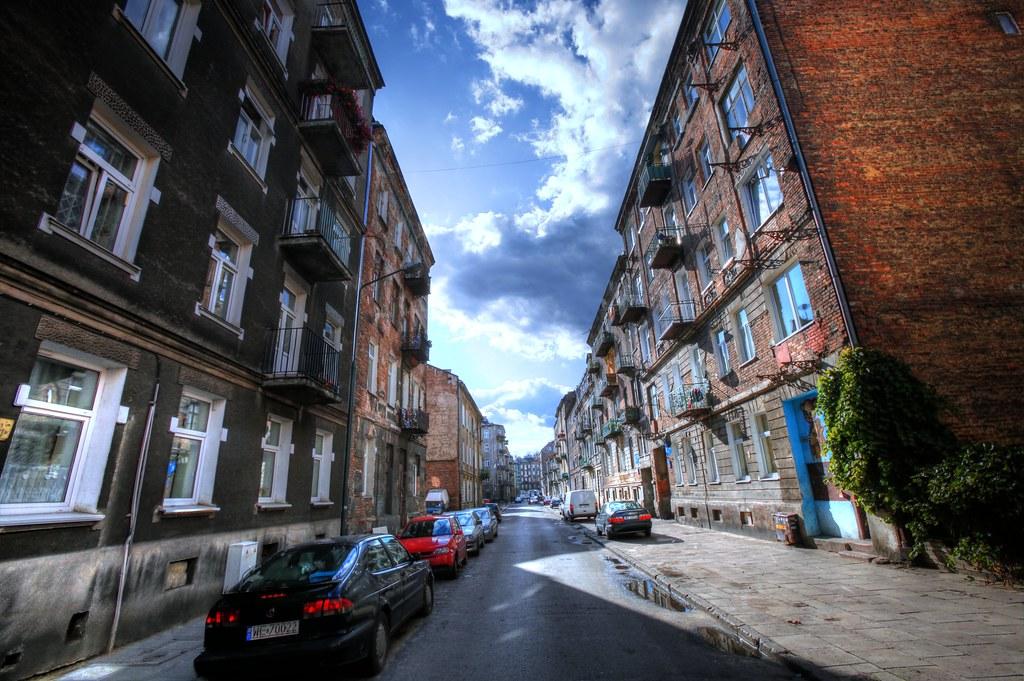 Quartier de Praga à Varsovie - Photo d'Andrzej Wrotek