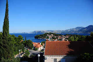 View from our quaint hotel in Cavtat, Croatia | by Jess Pac