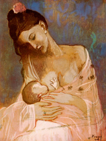 Maternity by Pablo Picasso | by Swarvanu