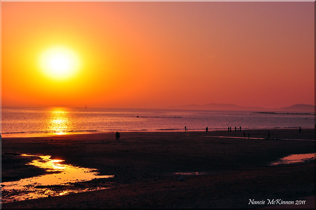 Sunset, Daecheon Beach, Korea