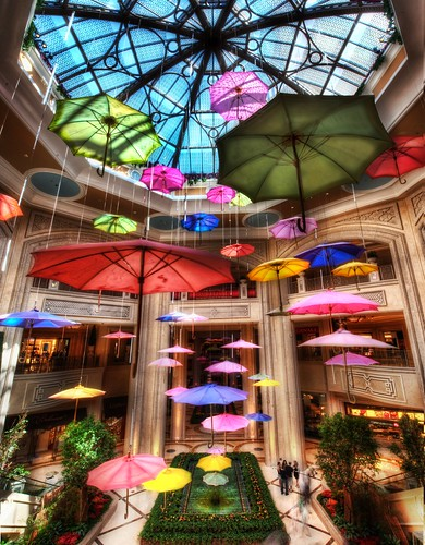 Umbrellas at the Shoppes at the Palazzo | by Stuck in Customs